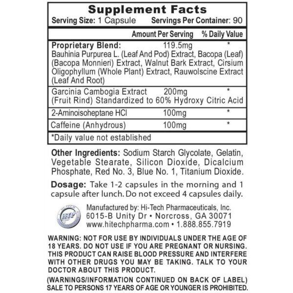 HydroxyElite by Hi-Tech Pharmaceuticals - 90 Capsules-2899