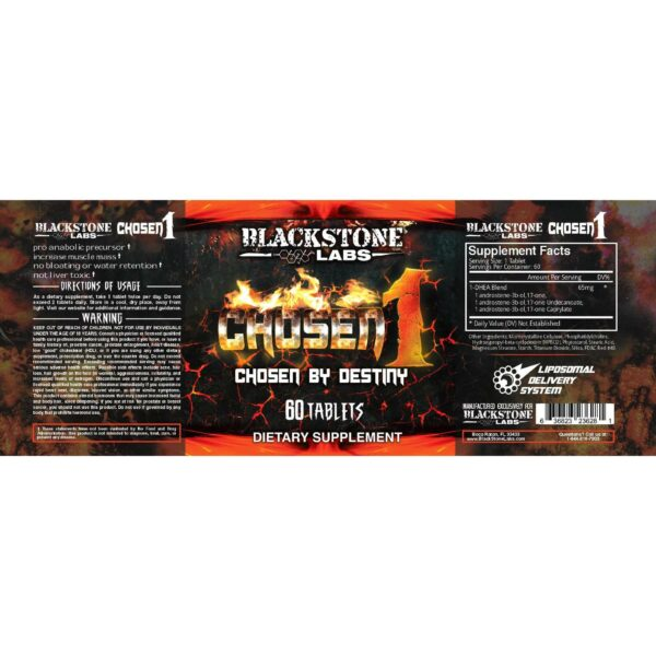 Chosen 1 - 60 Tablets - By Blackstone Labs-617