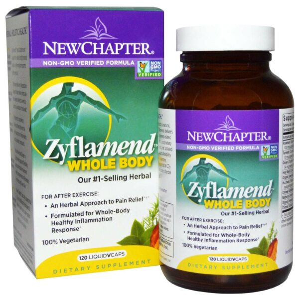 Zyflamend Whole Body Joint Supplement - 120 Liquid VCaps - New Chapter-0