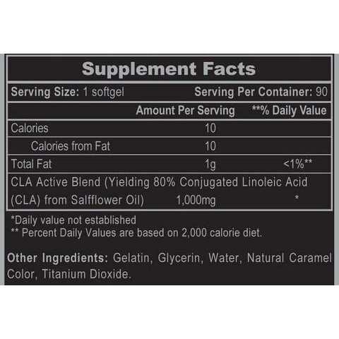 Hi-Tech Pharmaceuticals CLA 1000 - 90 Capsules-2425