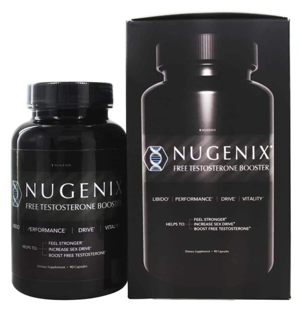 Nugenix Natural Booster - 90 Capsules-0