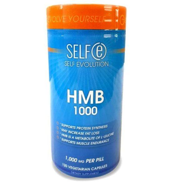 HMB 1000mg Supplement by Selfe - 120 Veggie Caps-0