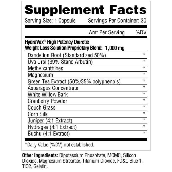 Metabolic Nutrition Hydravax - 30 Capsules-2879
