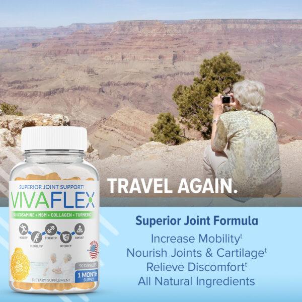 VivaFlex Superior Joint Support - 90 Capsules-3106