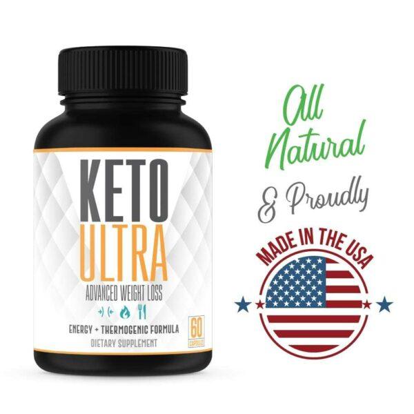 Keto Ultra – Powerful Keto Diet Pills – 60 Capsules-3371
