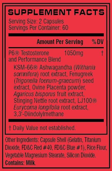 Cellucor P6 Red Original G5 - 180 Capsules-3449