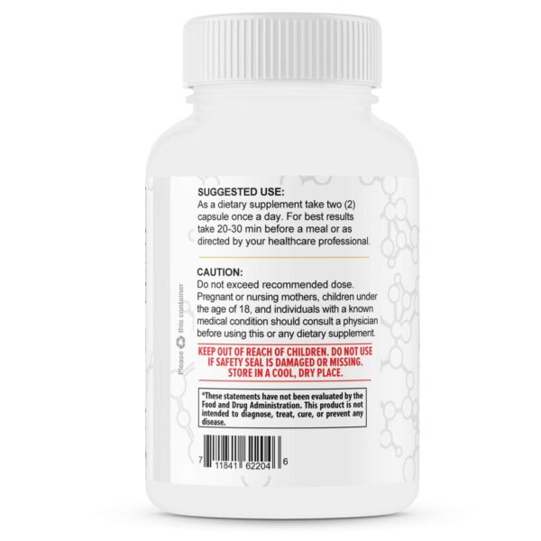 Pure Ashwagandha Root with Black Pepper – 1300mg – 1 Month Supply-3644