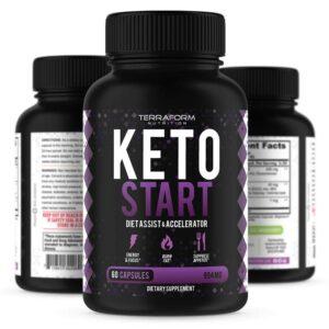 Keto Start – Keto Diet Supplement – 60 Capsules-0