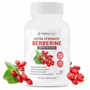 Pure Berberine - 1200mg - 60 Capsules-0